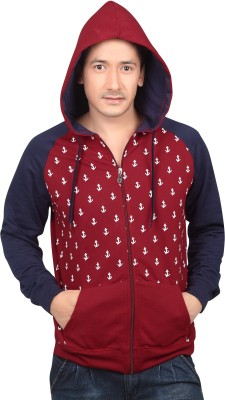 Free Spirit Full Sleeve Printed Men's Sweatshirt