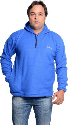 Axcellence Full Sleeve Solid Men's Sweatshirt