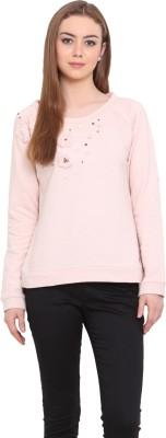 Porsorte Full Sleeve Self Design Women's Sweatshirt