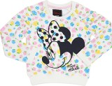 Mickey & Friends Full Sleeve Printed Gir...