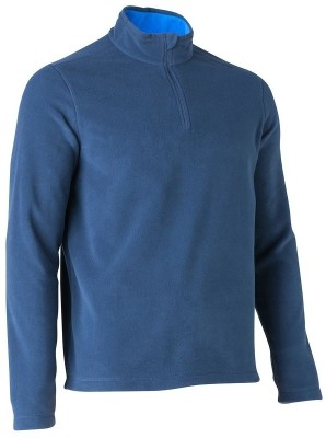 Quechua Full Sleeve Solid Men's Sweatshirt