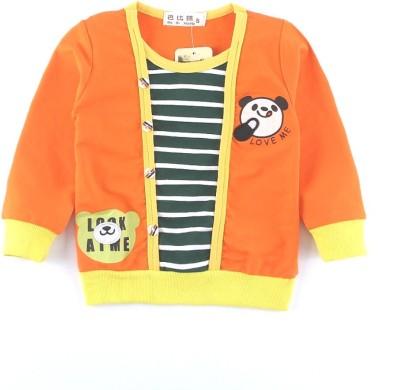 Pihu Kids World Full Sleeve Printed Baby Boy's Sweatshirt