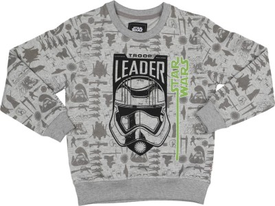 Star Wars Full Sleeve Printed Boy's Sweatshirt