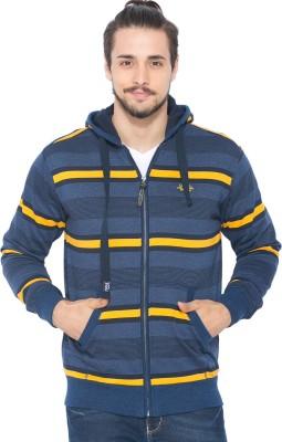 Status Quo Full Sleeve Striped Men's Sweatshirt