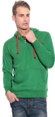 American-Elm Full Sleeve Self Design Men's Sweatshirt