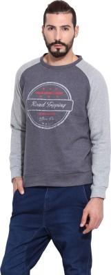 Camino Full Sleeve Solid Men's Sweatshirt