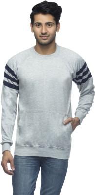 Martech Full Sleeve Solid Men's Sweatshirt