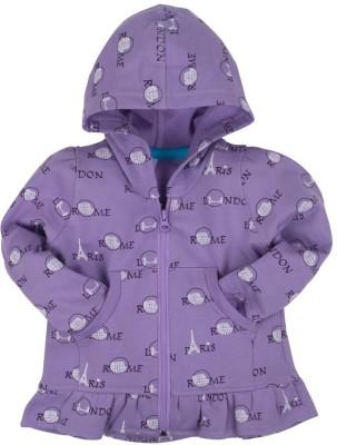 Oye Full Sleeve Printed Girl's Sweatshirt