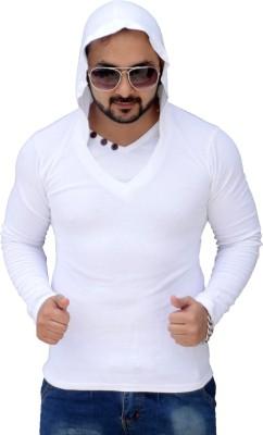 Black Collection Full Sleeve Solid Men's Sweatshirt
