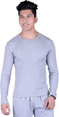 Lluminati Full Sleeve Solid Men's Sweatshirt
