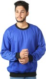 Kaizen Full Sleeve Solid Men's Sweatshir...