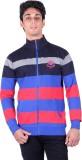 RGT Full Sleeve Striped Men's Sweatshirt