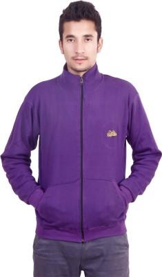 Cult Republic Full Sleeve Solid Men's Sweatshirt