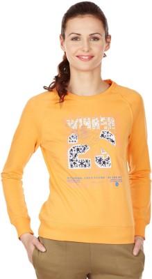 American Swan Full Sleeve Printed Women's Sweatshirt