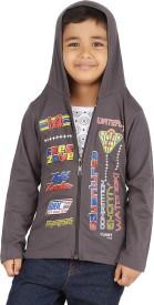 Meril Full Sleeve Printed Boys Sweatshirt