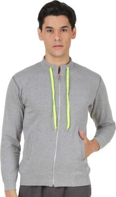 4Stripes Full Sleeve Solid Men's Sweatshirt