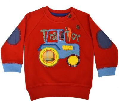 Pepito Full Sleeve Embellished Baby Boy's Sweatshirt