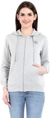 Her Grace Full Sleeve Solid Women's Sweatshirt