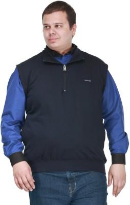 PlusS Sleeveless Solid Men's Sweatshirt