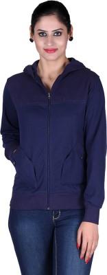 Vivid Bharti Full Sleeve Solid Women's Sweatshirt