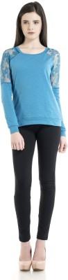 Kazo Full Sleeve Embellished Women's Sweatshirt