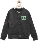 Yk Full Sleeve Solid Boys Sweatshirt