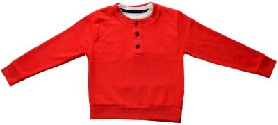 Hash Full Sleeve Solid Boy's Sweatshirt