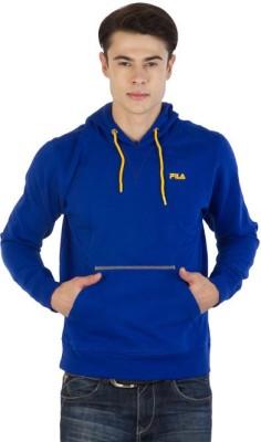 Fila Full Sleeve Printed, Solid Men's Sweatshirt