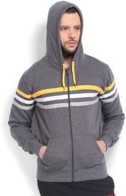 Sports 52 Wear Full Sleeve Striped Men,s Sweatshirt