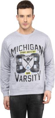 American Crew Full Sleeve Printed Men's Sweatshirt