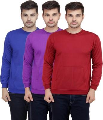 Fundoo T Full Sleeve Solid Men's Sweatshirt