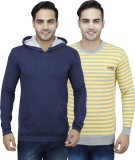 PRO Lapes Full Sleeve Striped Men's Swea...