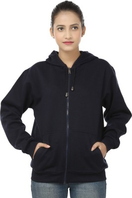 Weardo Full Sleeve Solid Women's Sweatshirt