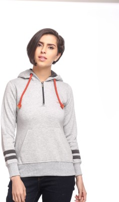 Cashewnut Full Sleeve Solid Women's Sweatshirt