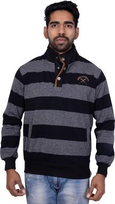Being Dessi Full Sleeve Solid Men,s Sweatshirt