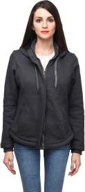 Be-Beu Full Sleeve Solid Women's Sweatshirt
