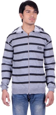 Marino Club Full Sleeve Striped Men's Sweatshirt