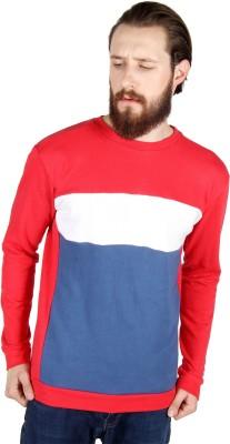 Threads & Pals Self Design Men's Round Neck T-Shirt