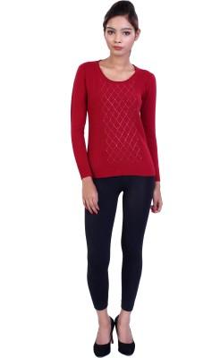 Ameri Full Sleeve Embellished Women's Sweatshirt