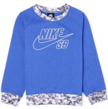 Nike SB Full Sleeve Solid Boys Sweatshir...