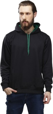 High Hill Full Sleeve Solid Men's Sweatshirt