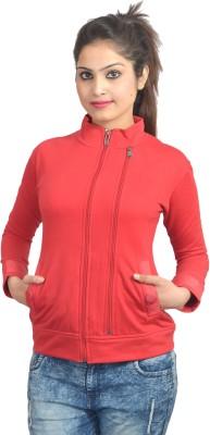 Scavin Full Sleeve Self Design Women's Sweatshirt