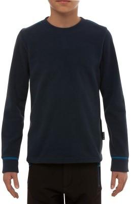 Quechua Full Sleeve Solid Boy's Sweatshirt