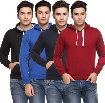 TSX Full Sleeve Solid Men,s Sweatshirt