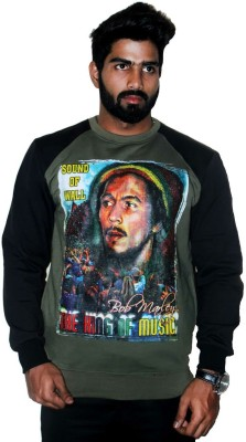 Youth & Style Full Sleeve Printed Men's Sweatshirt