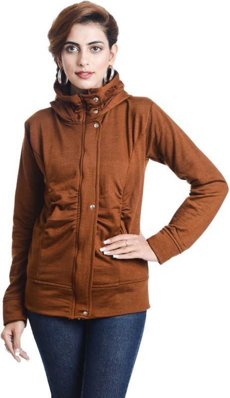TeeMoods Full Sleeve Solid Women's Sweatshirt