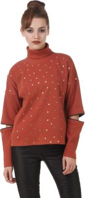 Texco Full Sleeve Embellished Women's Sweatshirt at flipkart