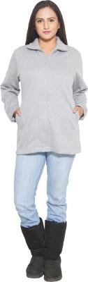 Finesse Full Sleeve Solid Women's Sweatshirt