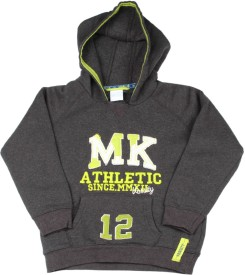 FS Mini Klub Full Sleeve Solid Boys sweatshirt