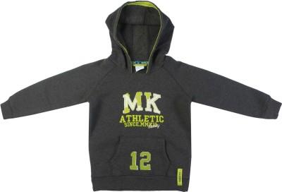 FS Mini Klub Full Sleeve Solid Boy's Sweatshirt